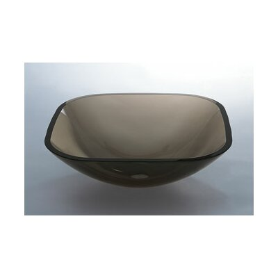 Square Glass Vessel Bathroom Sink - 420520-L5