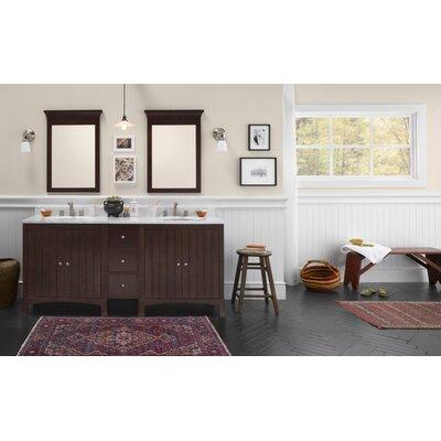 "Ronbow Hampton 72"" Double Bathroom Vanity Set"