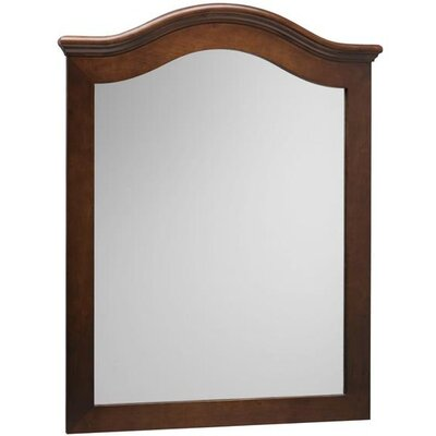 "Ronbow 30"" x 38"" Marcello Style Wood Framed Mirror"