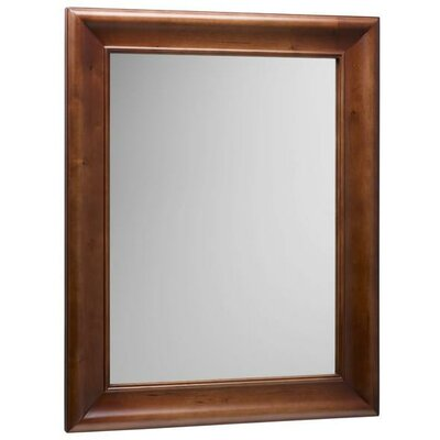Oak framed bathroom mirrors with simple inspirational for Wood framed mirrors