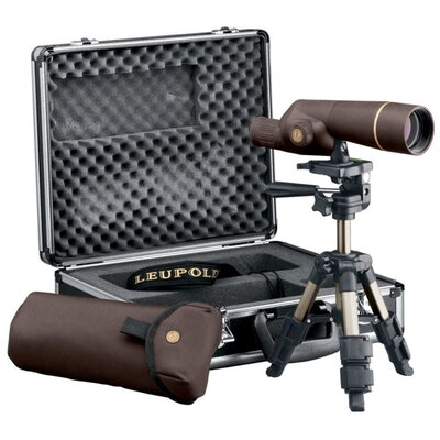 Golden Ring Spotting Scope 15-30x50mm Kit in Brown