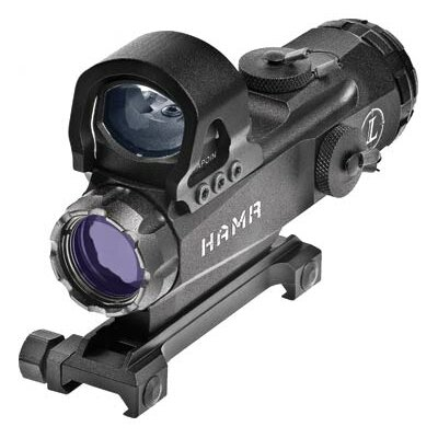 Mark 4 HAMR 4x24mm with DeltaPoint Illuminated Riflescopes in Matte