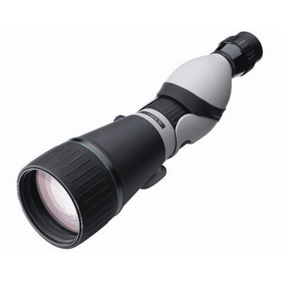 Kenai 30x 25-60x80mm Straight Spotting Scope in Gray / Black