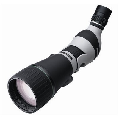 Kenai 30x 25-60x80mm Angled Spotting Scope in Gray / Black