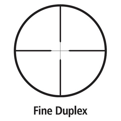 Leupold FX I Rimfire Scope 4x28mm Fine Duplex Reticle in Gloss Black