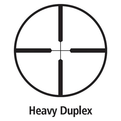 Leupold VX-3 Scope 1.75-6x32mm Heavy Duplex Reticle in Matte Black