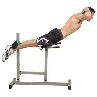 Powerline Flat Hyperextension Bench