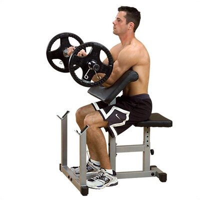 Preacher Curl Adjustable Hyperextension Bench