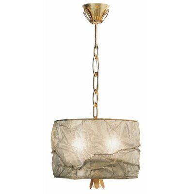 Lamp International Coloniale Three Light Pendant