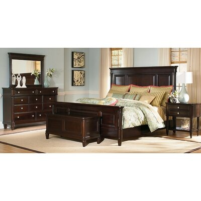 Wynwood Furniture Tuxedo Park Panel Bedroom Collection