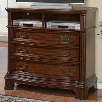 Wynwood Furniture Mill Creek 3 Drawer Media Chest