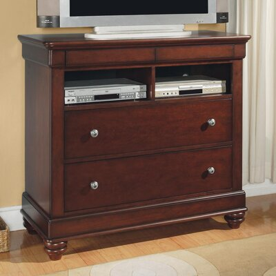Wynwood Furniture Olmsted 2 Drawer Media Chest