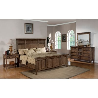 Wynwood Furniture Newberry Panel Bedroom Collection