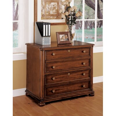 Wynwood Furniture Camden Lateral File in Ginger Cherry