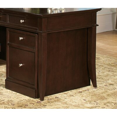 Kennett Square Mobile Pedestal in Dark Chocolate