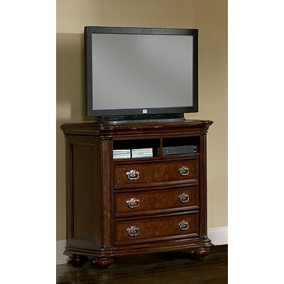 Wynwood Furniture Montelena 3 Drawer Media Chest