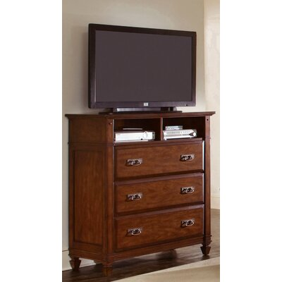 Wynwood Furniture Randolph Park 3 Drawer Media Chest