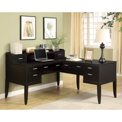 Wynwood Furniture Palisade L-Shape Desk Office Suite
