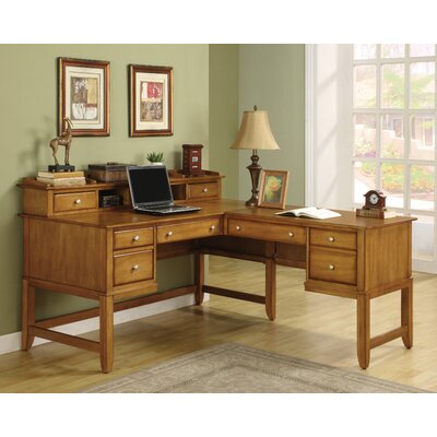 Wynwood Furniture Gordon L-Shape Desk Office Suite