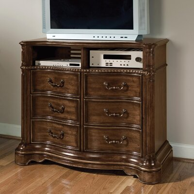 Wynwood Furniture Heritage Manor 3 Drawer Media Chest