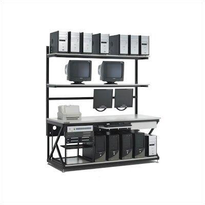 """Kendall Howard 72"""" Performance LAN Station Workbench with Full Bottom Shelf"""