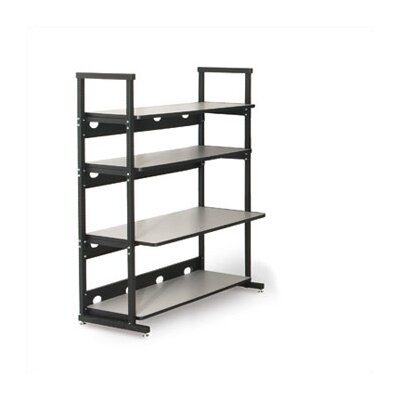Kendall Howard 4 Post LAN Rack Bundle - 48&quot; W