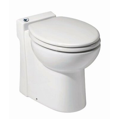 Sanicompact 48 Elongated 1 Piece Toilet