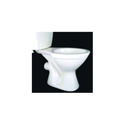 SaniFlo Elongated 1.6 GPF Elongated Toilet Bowl Only