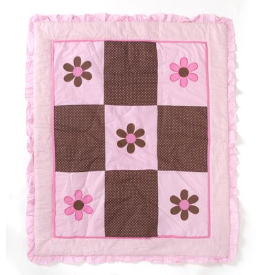 Pam Grace Creations Pam's Petals Toddler Bedding Set
