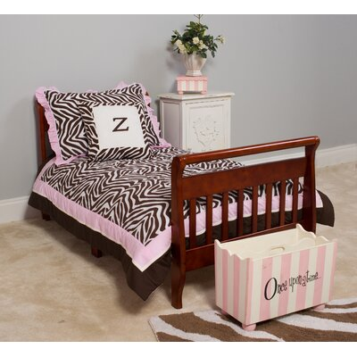 Pam Grace Creations Zara Zebra Toddler Bedding Set