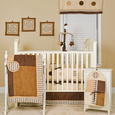 Cappuccino Nursery to Go Crib Bedding Collection