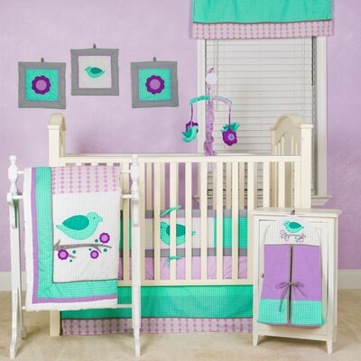 Pam Grace Creations Lovebirds Crib Bedding Collection