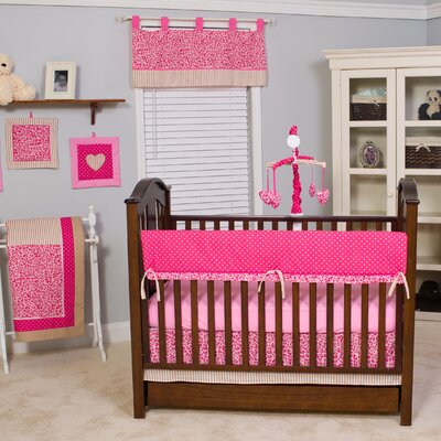 Cheetah 10 Piece Crib Bedding Set