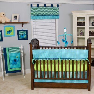 ZigZag 10 Piece Crib Bedding Set