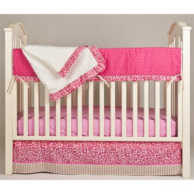 Simply Cheetah 4 Piece Crib Bedding Set