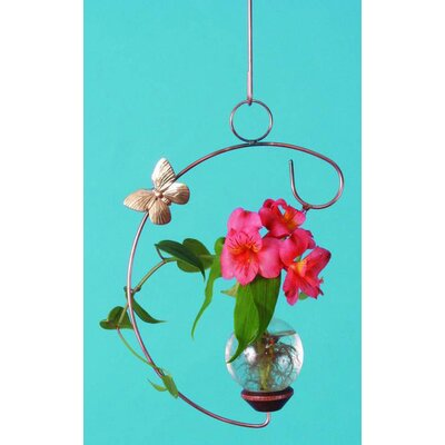 The Brass Butterfly Hanging C Plant Rooter