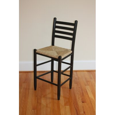 "Dixie Seating Company Carolina Ladder Back 24"" Barstool"