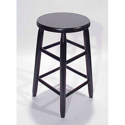 "Dixie Seating Company 24"" Round Top Backless Barstool"