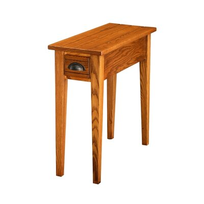 Leick Furniture Favorite Finds Bin Pull End Table