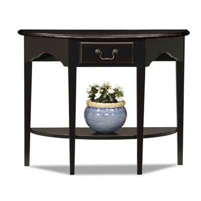 Leick Furniture Favorite Finds Demilune Console Table