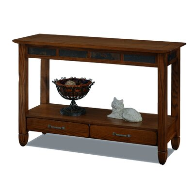 Leick Furniture Slatestone Console Table