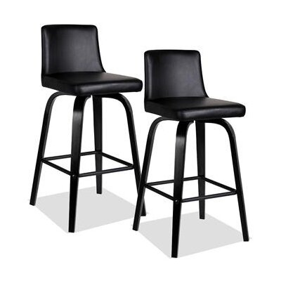Leick Furniture Upholstered Counter Stool (Set of 2)