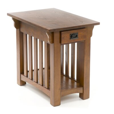 Leick Furniture Mission Impeccable Chairside Table