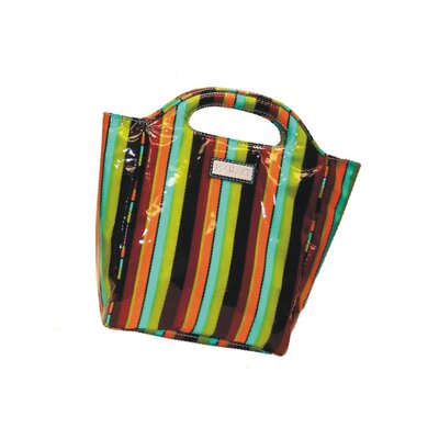Hadaki Insulated Lunch Pod Printed Coated in Monkey Stripes