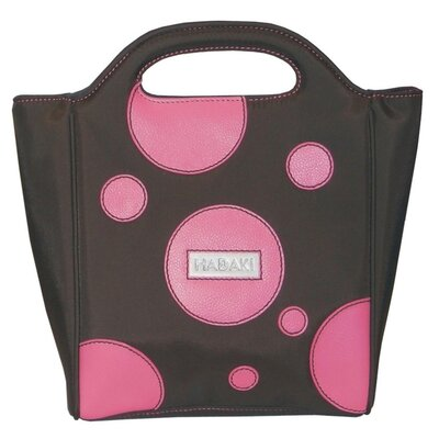 Hadaki Nylon Insulated Lunch Pod in Bubbles Pink
