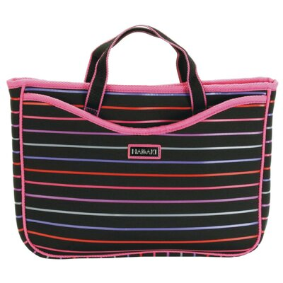Hadaki Pencil Stripes Neoprene Laptop Sleeve