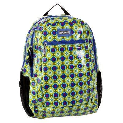Hadaki Cool Backpack Coated in Cobalt Stars