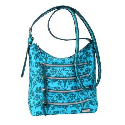 Hadaki Nylon Millipede Hobo Bag