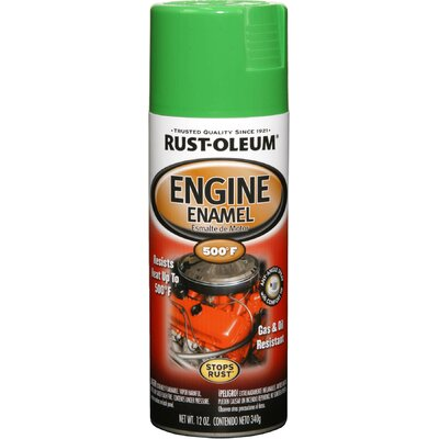 RustoleumAutomotive 12 Oz Grabber Green Engine Enamel Spray Paint 248951
