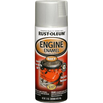 RustoleumAutomotive 11 Oz Cast Coat Aluminum Engine Enamel Spray Paint 248953